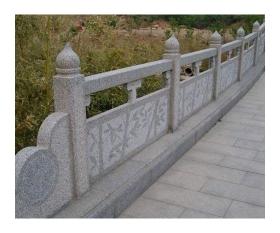 石材栏杆雕刻,桥栏杆护栏