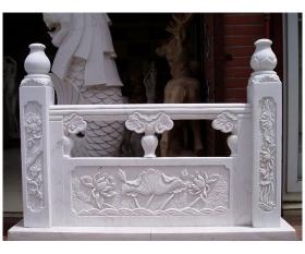 石材栏杆浮雕,桥栏杆