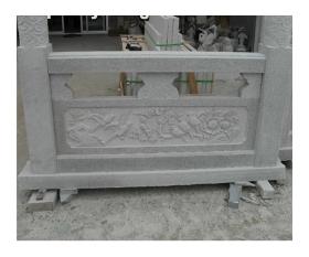 石材栏杆-浮雕栏板